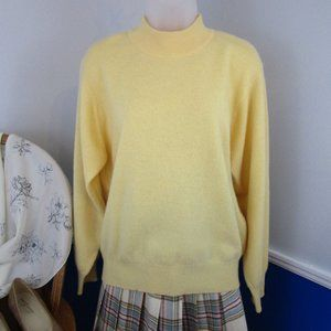 Vintage 80's Mark Fore & Strike Cashmere Sweater